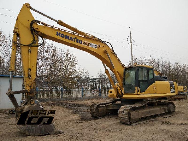 小松二手pc360-7挖掘机