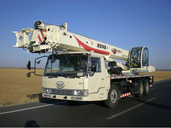 抚挖锦重QY16F1汽车起重机汽车起重机