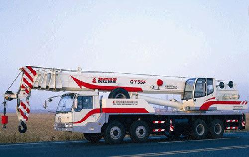 抚挖锦重QY55F 汽车起重机