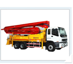 海诺46m臂架式混凝土泵车