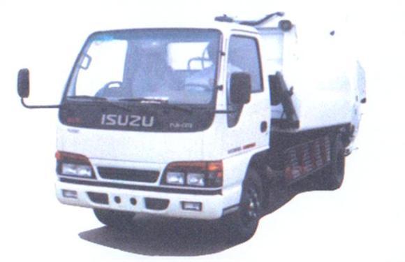 华菱星马AH5052ZYS压缩式垃圾车