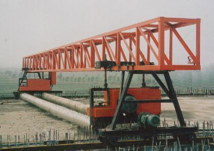 海天路矿摊铺机高架桥悬挂式摊铺机