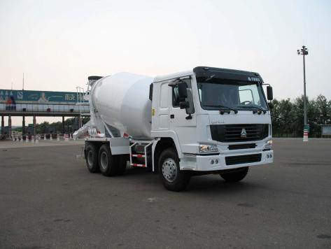 鸿达HDT5250GJB搅拌运输车