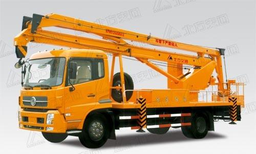 北方交通22米折臂式东风高空作业车