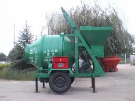 青岛科尼乐JZC350B混凝土搅拌车