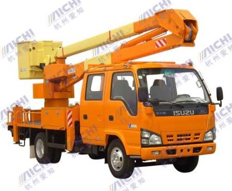 杭州爱知HYL5038JGK曲臂式高空作业车