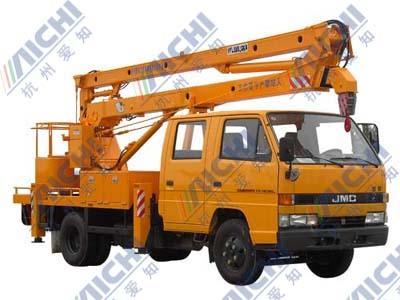 杭州爱知HYL5053JGKA曲臂式高空作业车