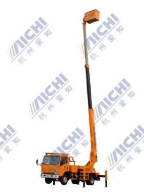 杭州爱知HYL5091JGK伸缩臂式高空作业车