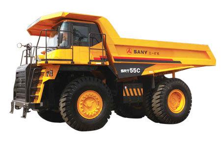 三一重工SRT55C矿用汽车