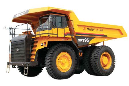 三一重工SRT95矿用汽车