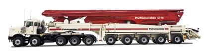 普茨迈斯特M70-5泵车