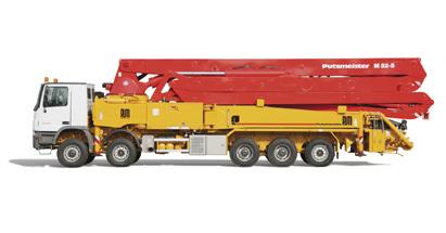 普茨迈斯特M52-5泵车