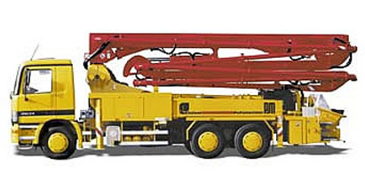 普茨迈斯特M 32-4泵车