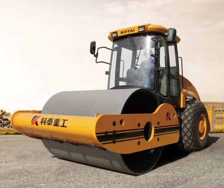 科泰重工KS125S单钢轮压路机(单驱)