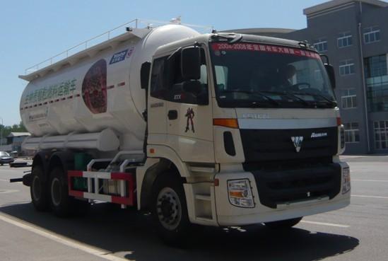 亚特重工TZ5253GFLBS3欧曼散灰26方粉粒物料运输车