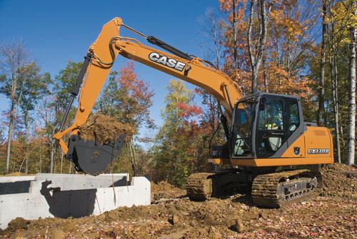 凯斯CX130B履带式挖掘机