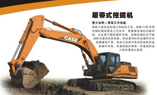 凯斯CX360B履带式挖掘机