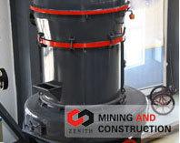 上海西芝MTW欧式磨磨粉机