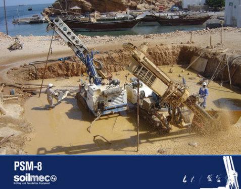 土力机械SM-8多功能微桩机
