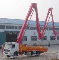 通亚汽车CTY5320THB-45ZX170臂架泵