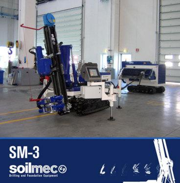 土力机械SM-3多功能微桩机