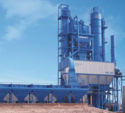 中交西筑JD3000沥青混合料搅拌设备高清图 - 外观