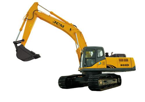 山重建机JCM933D履带式挖掘机