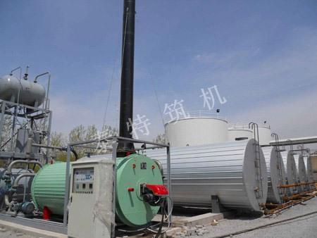 无锡泰特导热油加热沥青设备