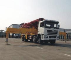 陕汽德龙F3000 8×4 45米泵车