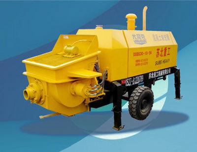 尤尼克DXBS系列柴油机细石混凝土输送拖泵
