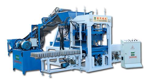 雄辉XH03-25 半自动砌块成型机砖机
