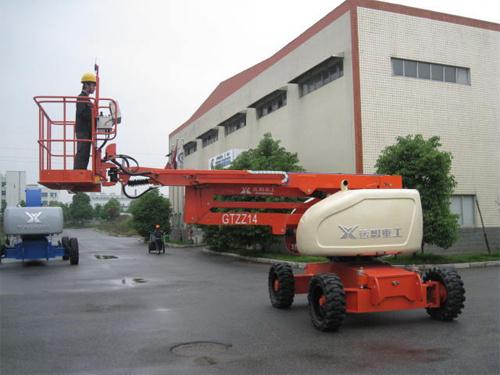 运想重工14米曲臂GTZZ14,GTZZ14Z高空作业平台