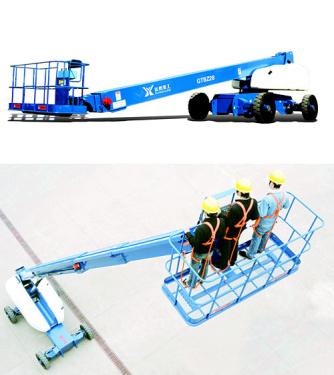 运想重工28米直臂GTBZ28、GTBZ29Z高空作业平台