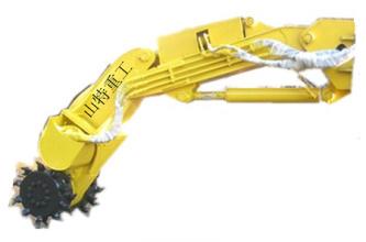 山特重工铣挖头掘进机高清图 - 外观