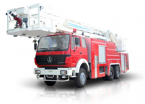 中联重科ZLJ5321JXFYT32型多功能云梯消防车