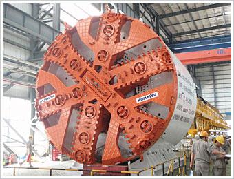 小松土压平衡盾构机械