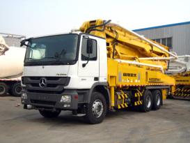 山推HJC5320THB-47米/HJC5330THB-47米/HJC5331THB-47臂架式泵车