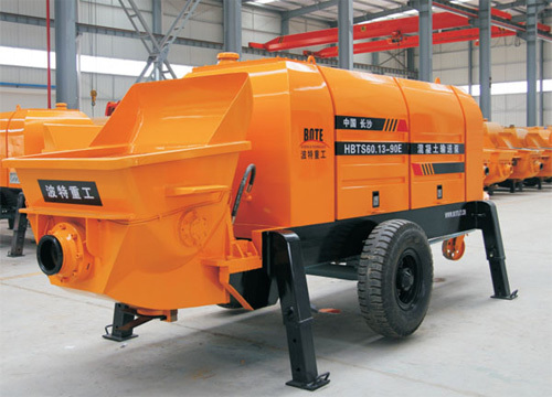 波特重工HBT电机系列拖泵(力士乐主油泵)