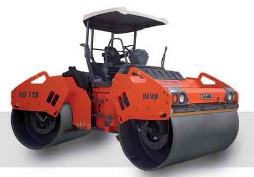 悍马HD 128 双钢轮压路机