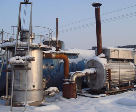 沧田重工经济型热煤气沥青导热油设备