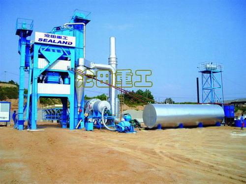 沧田重工LB700沥青搅拌设备