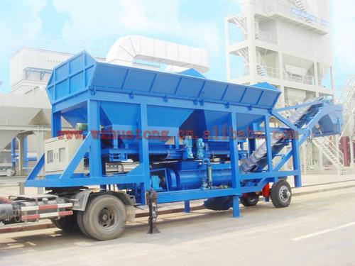 无锡华通WCB-300型移动稳定土厂拌设备