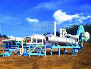 沧田重工DB20/40/60型筒式沥青混合料搅拌设备高清图 - 外观