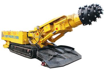 石煤机EBZ160二代半煤岩掘进机