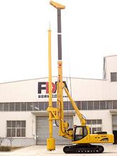 富岛机械CD856A全液压旋挖钻机高清图 - 外观