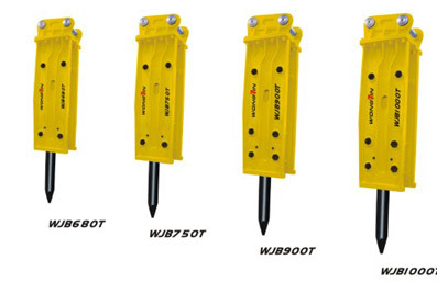 雄进WJB680T/WJB750T/WJB900T/WJB1000T塔型破碎锤