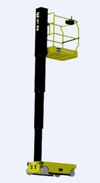 东迈重工E8/E12型纯电动柱式