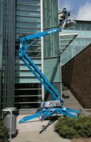 美国吉尼TZTM-50拖车式曲臂型高空作业平台