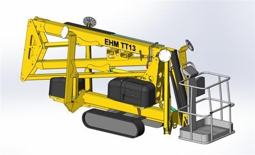 东迈重工TT-13/TT-19型拖车履带式系列
