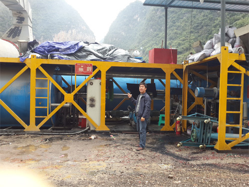 鑫衢JM系列橡胶粉改性沥青设备